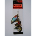 Redtail Spinner  Silver/Red Scales 16gm